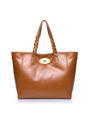 Nucelle NOVA brun lædertaske