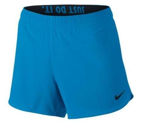 Nike Women's Phantom 2 In 1 Shorts -832885 435 - Blue Training Shorts