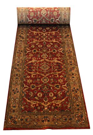 Lovely #tradionalindianrug in Melbourne  Antique Persian Kashan motif, woven in India of finely hand spun New Zealand wool. Dense and sturdy rug.