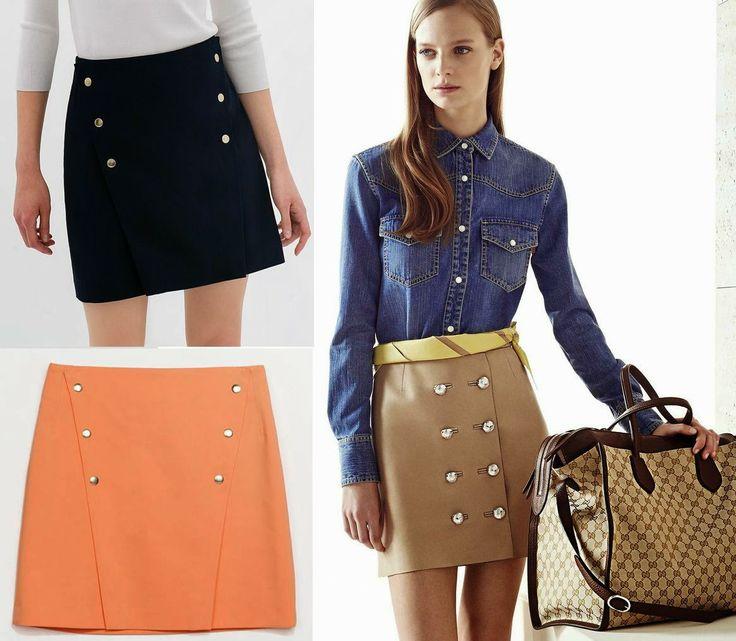 Faldas de Zara  #Gucci #inspiration http://cuchurutu.blogspot.com.es/2014/06/gucci-inspiration.html