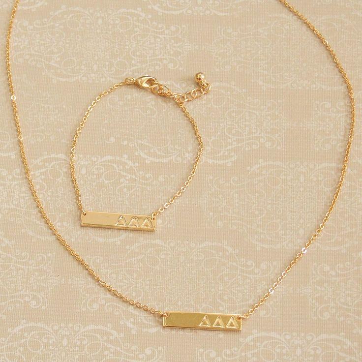 Delta Shop - Bar Bracelet - Tri Delta