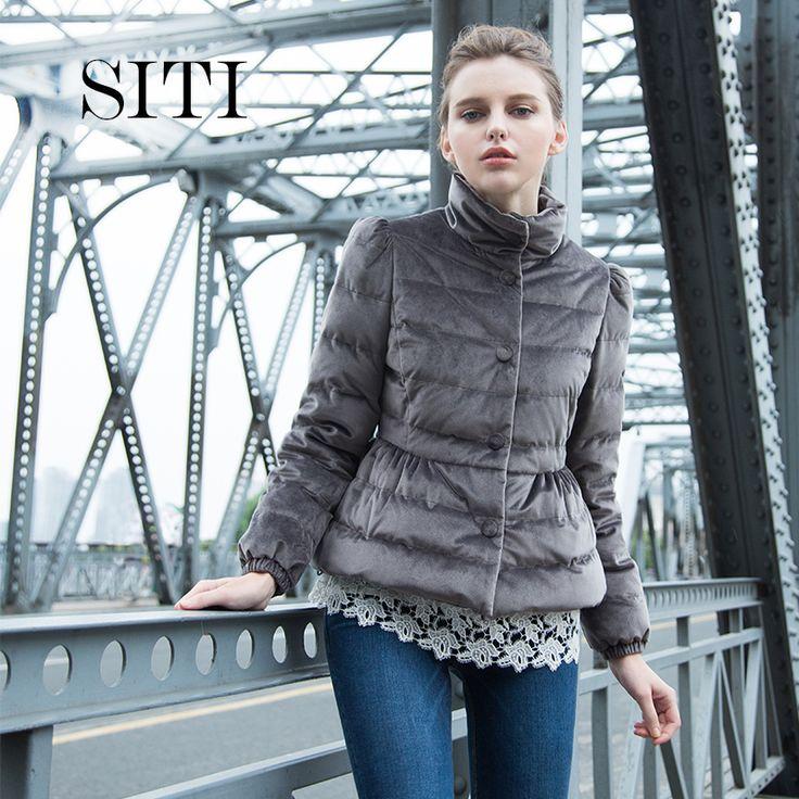 Женщины вниз теплый бархатный Pleuche бант пальто парка элегантный мода новая зимняя верхняя одежда известная группа модель Большой размер купить на AliExpress