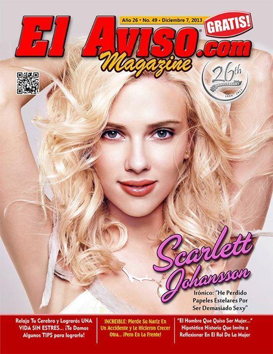 Scarlett Johansson, El Aviso 07 December 2013