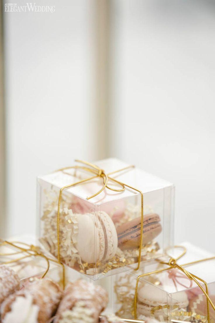 Macaron Gastgeschenke für Hochzeiten, Geschenkkartons   Glamouröse tropische Hochzeit auf …