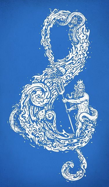 sound of the ocean music symbol. #music #symbols #musicnotes http://www.pinterest.com/TheHitman14/music-symbols-%2B/