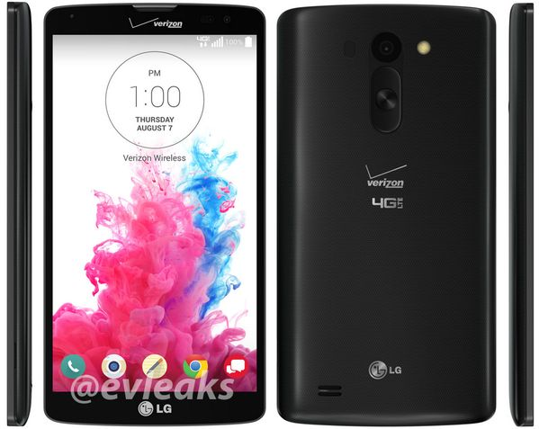 LG G Vista (4G LTE) for Verizon Leaks; Variant of the LG G Pro 2