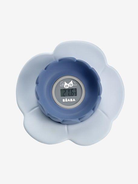 Thermomètre de bain lotus BEABA - Bleu+Corail/rose - 1