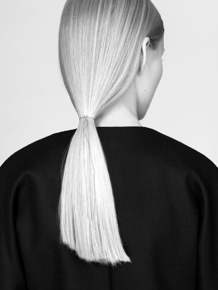 MINIMAL + CLASSIC: NON jacket 100% finest merino wool fabric model Malwina Garstka Modelplus Photographed by Kasia Bielska thisisnon.com