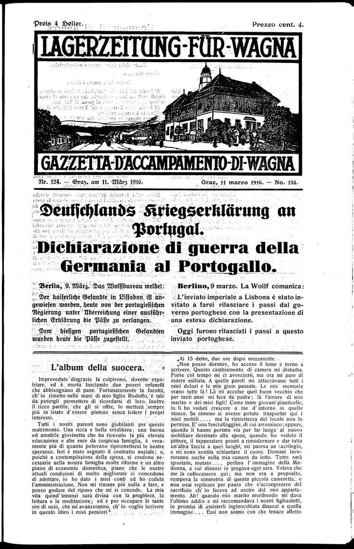 La Germania dichiara guerra al Portogallo