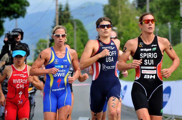 Lisa Norden and Sarah Groff - ITU Triathlon Kitzbuhel