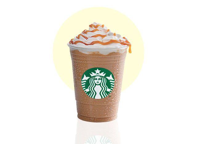 Starbucks Classic Frappuccino Flavors, Ranked - Caramel Frappuccino  - Delish.com