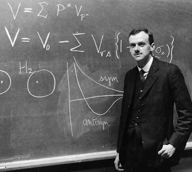 "Paul Dirac (England, 1902-1984); shared the Nobel Prize in Physics for 1933 with Erwin Schrödinger, ""for the discovery of new productive forms of atomic theory."""