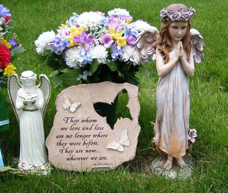 Ajay's Emporium  - Butterfly Memorial Stepping Stone Garden Cemetery Decor, $28.99 (http://www.ajaysemporium.com/butterfly-memorial-stepping-stone-garden-cemetery-decor/)
