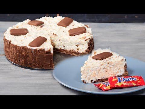 No Bake Cake mit Daim Schokolade - Klein aber Lecker
