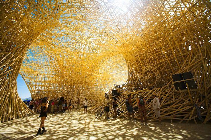 30 of the coolest Burning Man art installations ever   Matador Network