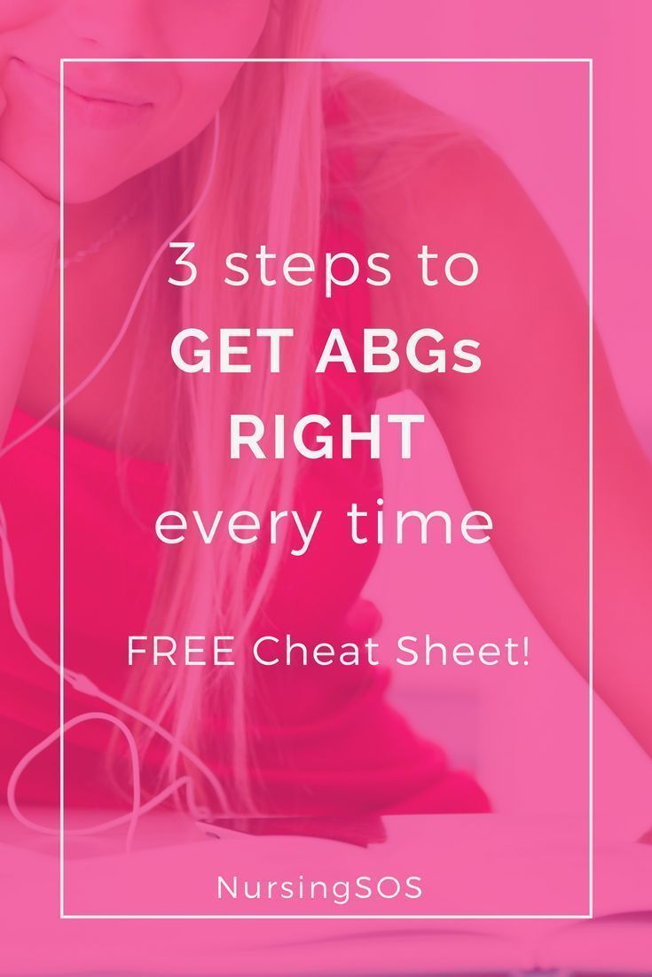 3 Steps To Get Abgs Right Every Time Plus A Free Cheat Sheet