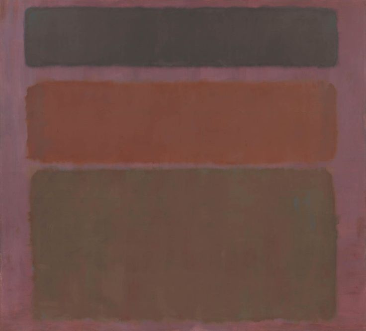No. 16 (Red, Brown, and Black) by Mark Rothko