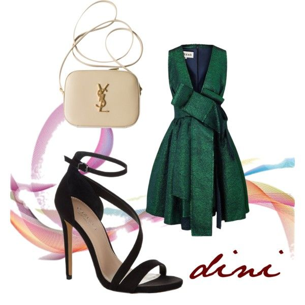 Untitled #162 by dini-ph on Polyvore featuring A.W.A.K.E., Carvela Kurt Geiger and Yves Saint Laurent