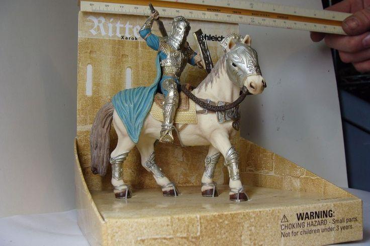 NIP Schleich Ritter Xarok Knight On Horse Figure #70060
