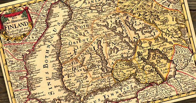 Etelä-Karjalan linnoitukset ja vanhat kartat
