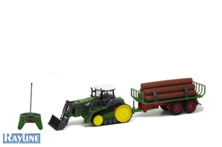 RC Kettenfahrzeug Traktor mit Anhänger QY8311E Nutfahrzeug