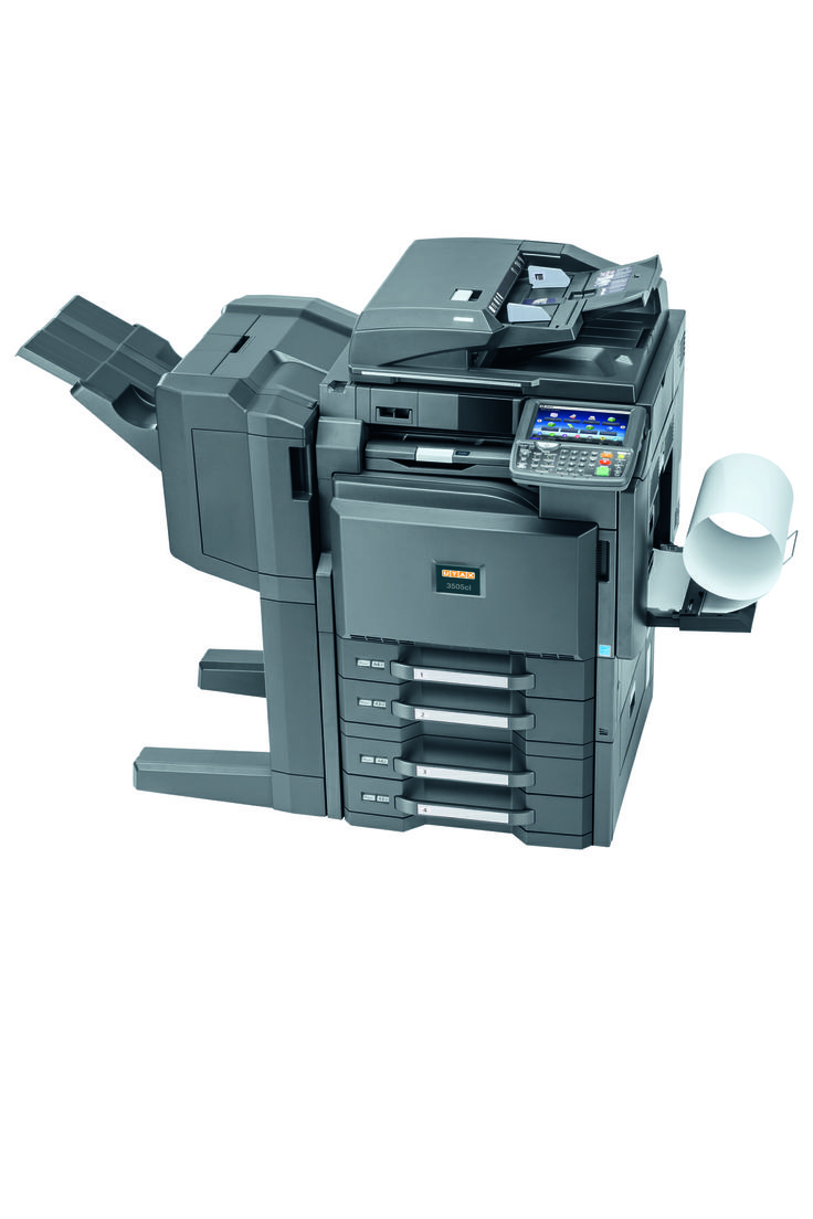 UTAX 3005ci With a speed of 30 A4 pages per minute and its technical innovations the system offers high quality, productivity, reliability and security. Also, the paper management offers high flexibility due to the possibility of printing onto paper weights up to 300 g/m² and paper sizes up to A3+.