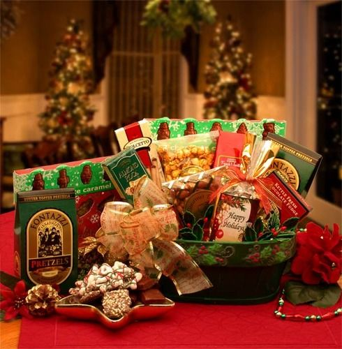 62 best christmas gift ideas 2014 images on pinterest christmas a merry christmas greeting gift basket 5499 negle Image collections