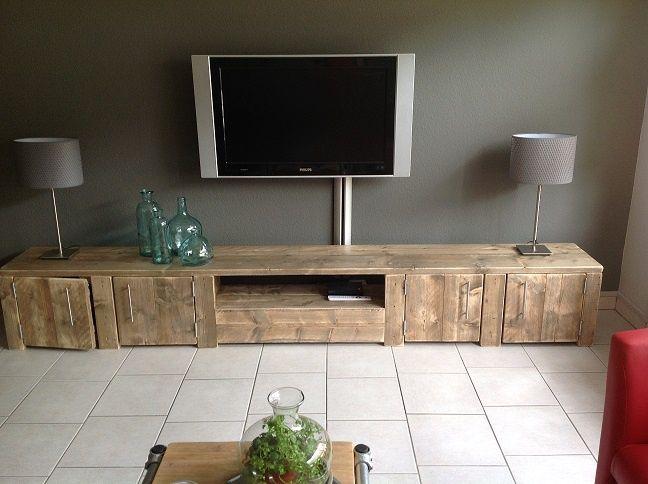 Tv meubels jorg s houten meubelen de woonkamer for Houten meubels woonkamer