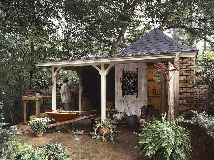 Best She Sheds Images On Pinterest She Sheds Garden Sheds