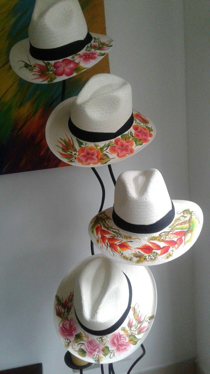 Pinceladas sobre sombreros aguadeños