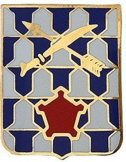 16th Infantry Regiment Unit Crest (No Motto)