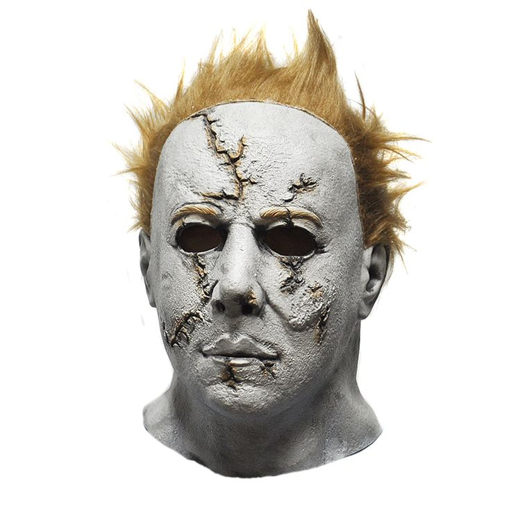 Purge Masks Horror Movie Halloween Michael Myers Mask, Adult Party Masquerade Cosplay Latex Mask
