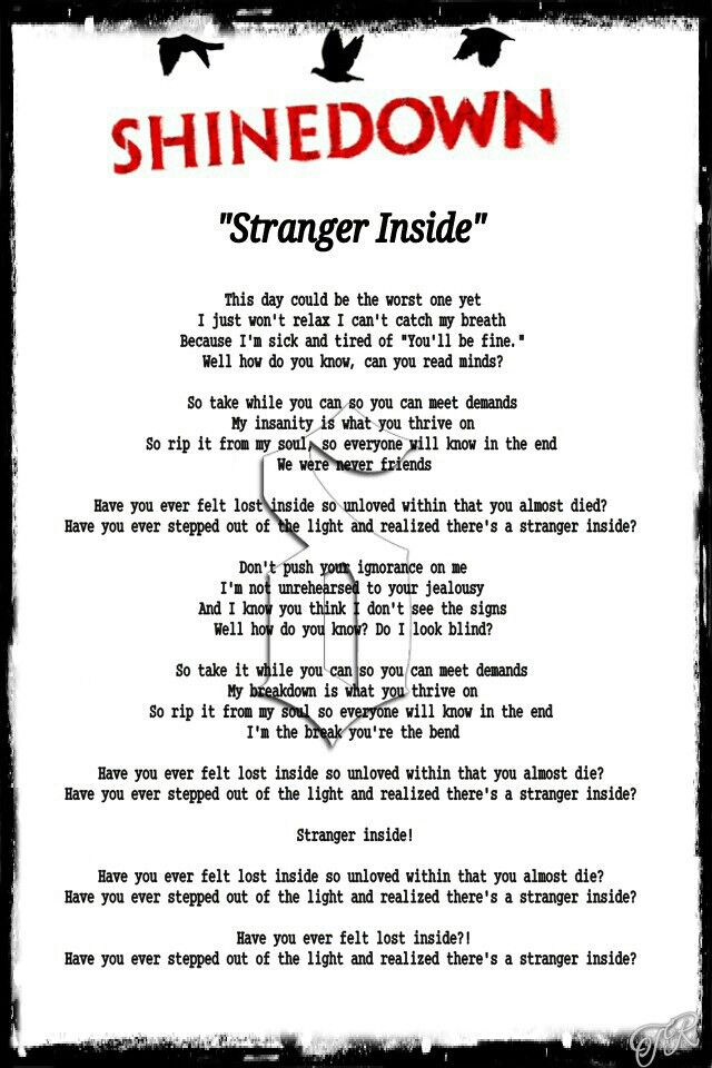 Lyric adelitas way good enough lyrics : 180 best My Creations - song lyrics images on Pinterest | Lyrics ...