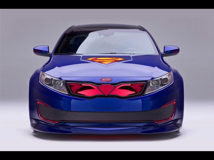 2013 Kia Optima Hybrid Superman
