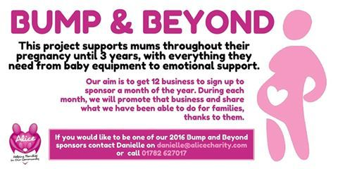 Our #BumpandBeyond project supports mums throughout their pregnancy up until their child is 3yrs...