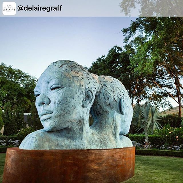 #flashbackfriday #VanaShreeAtDelaireGraffEstate #repost @delairegraff African art takes center South African art takes center stage in New York this week with the unveiling of Morphous by @lionelsmit in Union Square.  A poignant piece exploring the fluidity of identity in South Africa, past and future, the exhibit is timely as we celebrate Youth Day in South Africa tomorrow.stage in New York this week with the unveiling of Morphous by @lionelsmit in Union Square.  A poignant piece exploring…