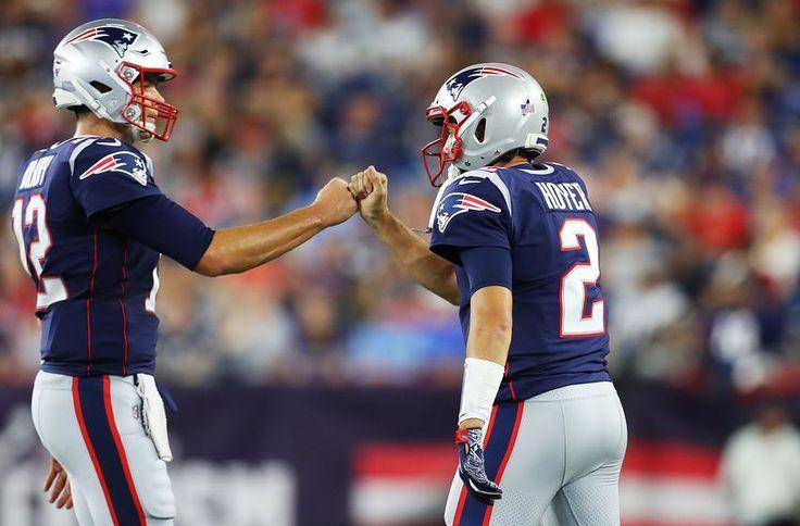 New England Patriots Tom Brady Already Misses Brian Hoyer Em 2020 Esportes