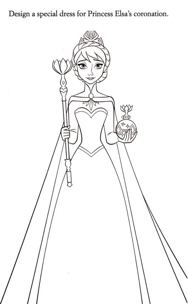 Elsa Coloring Pages Elsa Coloring Pages Elsa Coloring Frozen