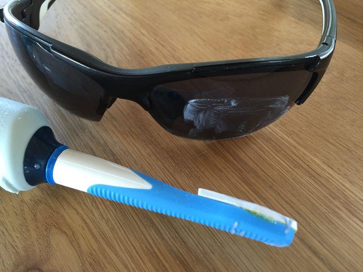 Jetzt kann man zum Beispiel die Sonnenbrille auf Hochglanz
