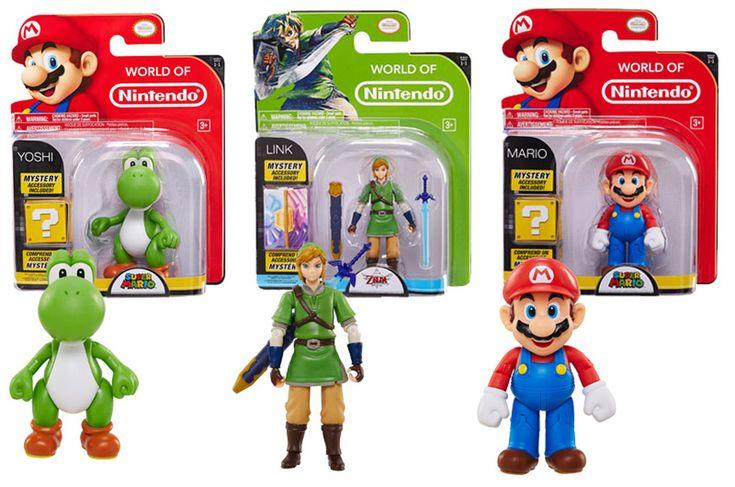 Jakks Pacific - World of Nintendo - 4-inch figures