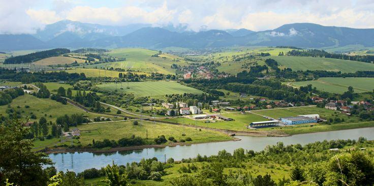 View from Havránok, Slovakia