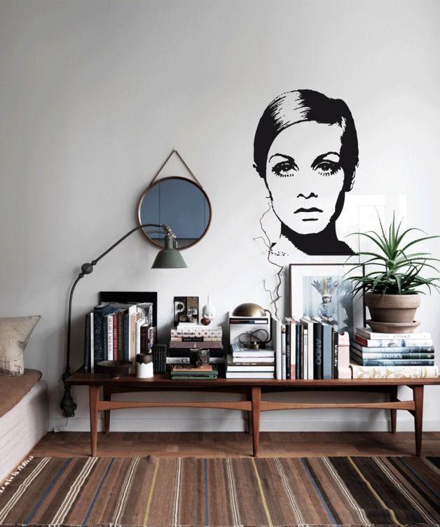 Die besten 25+ Wall Pops Wandsticker Ideen auf Pinterest Lichter - wandtattoo wohnzimmer retro