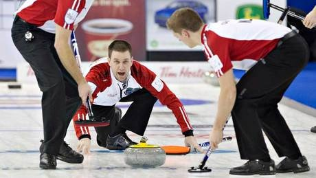 Brad Gushue opens Brier with win - http://f3v3r.com/2013/03/02/brad-gushue-opens-brier-with-win/