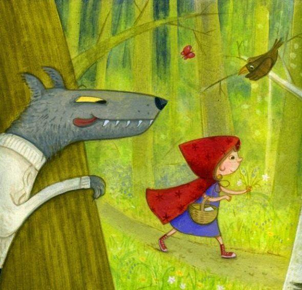 Little Red Riding Hood - Le petit Chaperon Rouge - Belinda Worsley