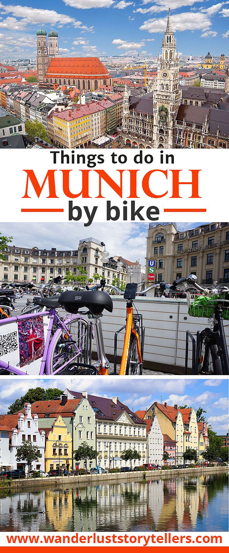 Click to read about the top things to do in Munich by bike. We have worked out a great self guided bike tour to see all the major Munich Tourist Attractions!