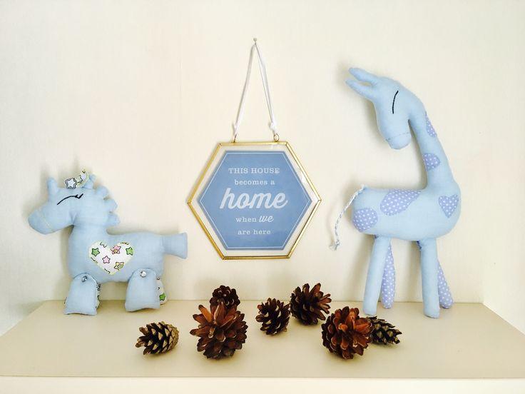 Handmade toys from linen fabric eco-friendly nursery decor