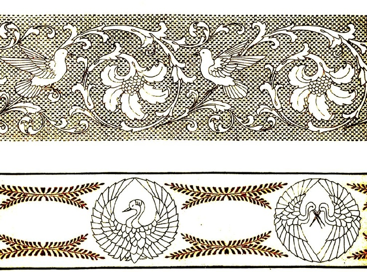 Details about antique dmc french hand embroidery patterns
