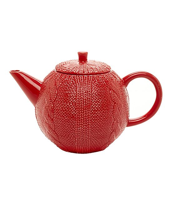 """Because pausing for a cup of tea is always a good idea. :: Love this """"sweater"""" wearing teapot."""