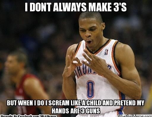 b4edc915757a860c539b5708cf4cd6e8 nba memes sports humor great game, thunder nation! credit tommy marsden,Oklahoma City Thunder Memes