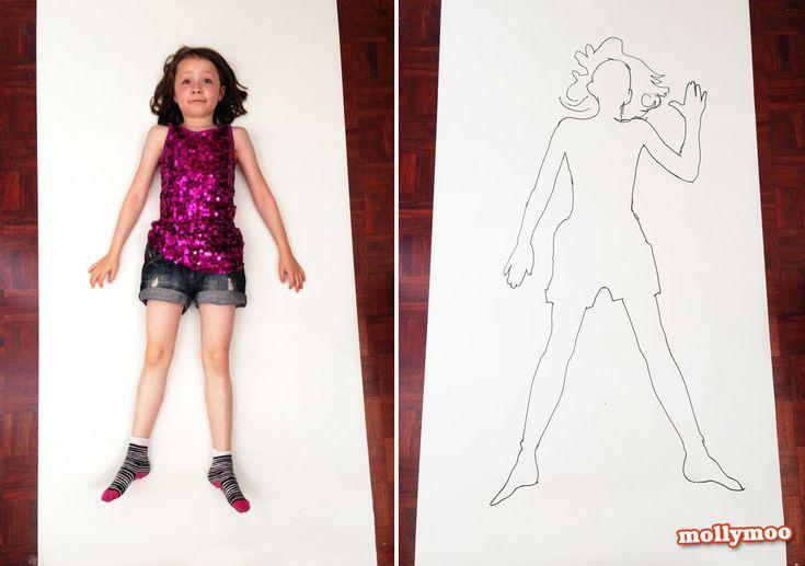 """Gigantic Me"" - children's life size portraits | MollyMoo"